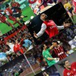 Fußballer Collage